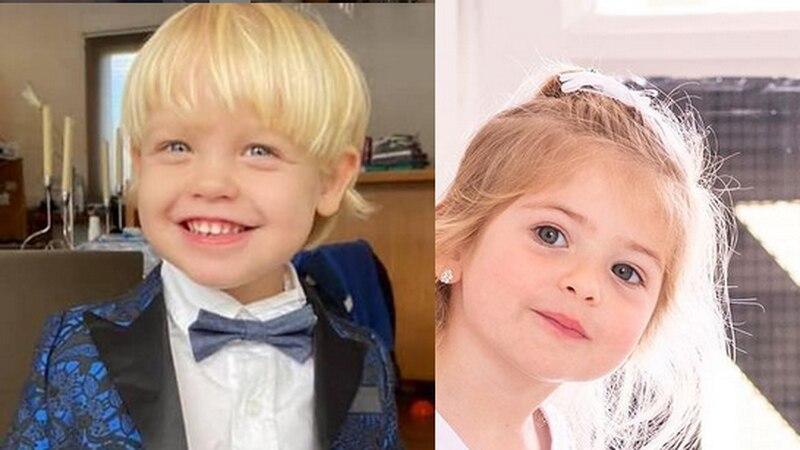 Mirko y Chloe, hijos de Marley y Jésica Cirio, marcan tendencia en la moda infantil