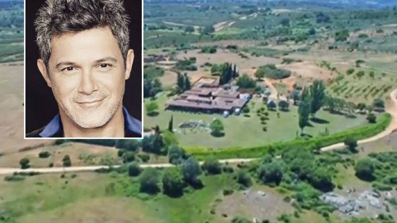 La mansión de Alejandro Sanz: así es la finca divina del cantante alejada del resto de la humanidad
