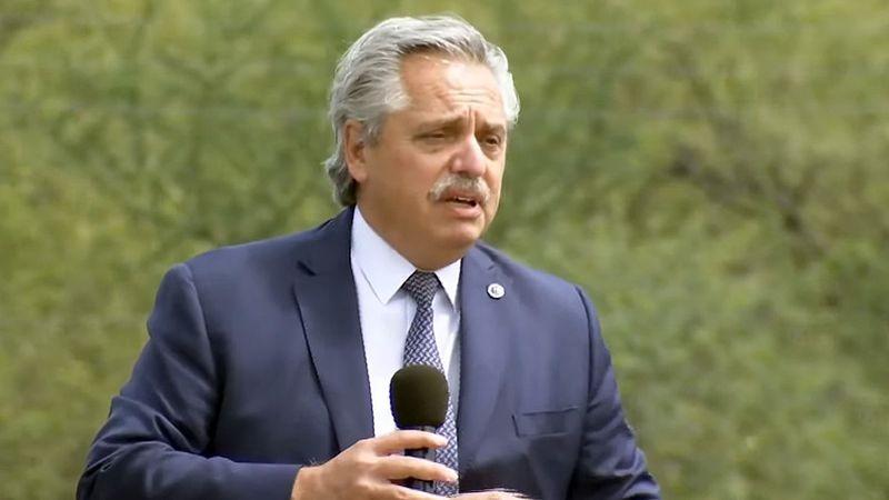 """Alberto Fernández, durísimo contra la oposición: """"Son negacionistas y quieren un país para pocos"""""""