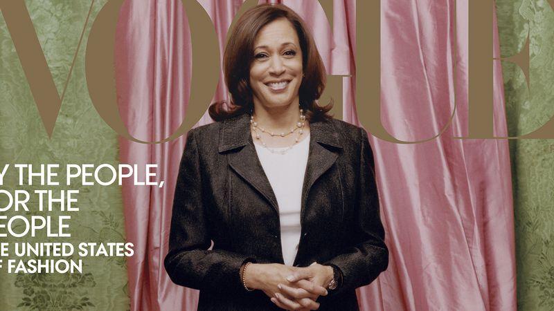 """Polémica por la tapa de Vogue donde la vicepresidente electa de EEUU luce con la piel """"blanqueada"""""""