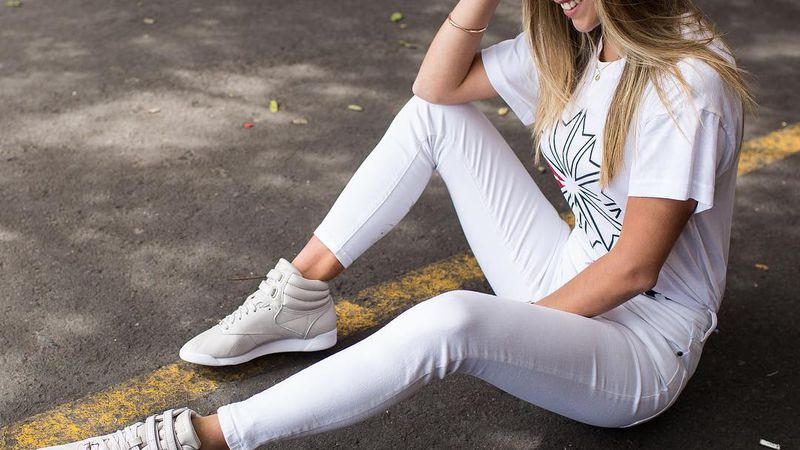 Total White Look: moda de lujo