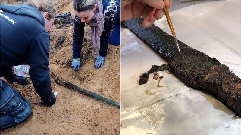 Increíble: encontraron una espada de 3.000 años de antigüedad en excelente estado