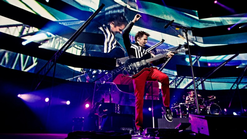 "Mirá completo ""Muse: Live At Rome Olympic Stadium"", vía GoMusic"