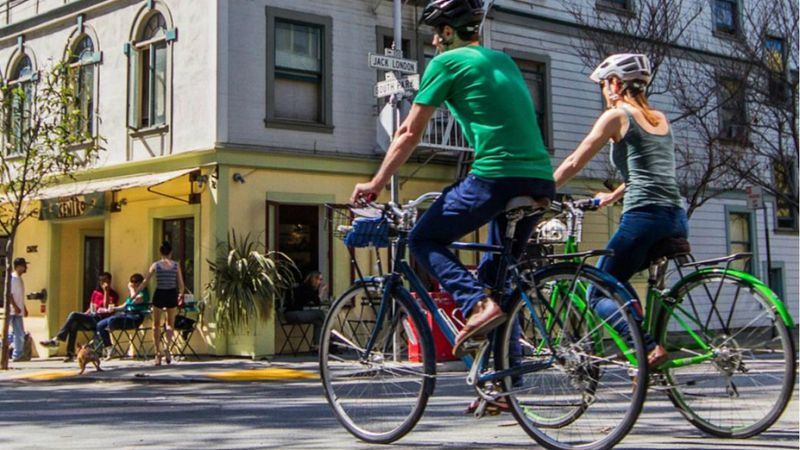 ¿Por qué cada vez más gente elige desplazarse en bicicleta?