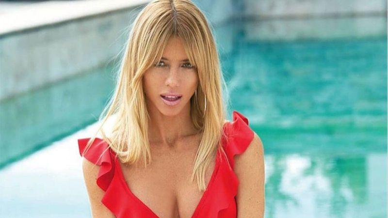 Nicole Neumann volvió a Argentina y se animó a las bikinis ultra cavadas