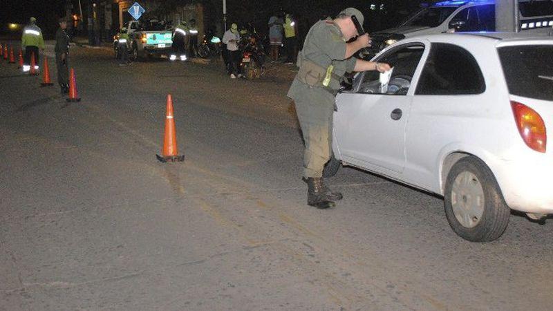 Detuvieron a un hombre con cocaína en un control de Gendarmería en San Carlos