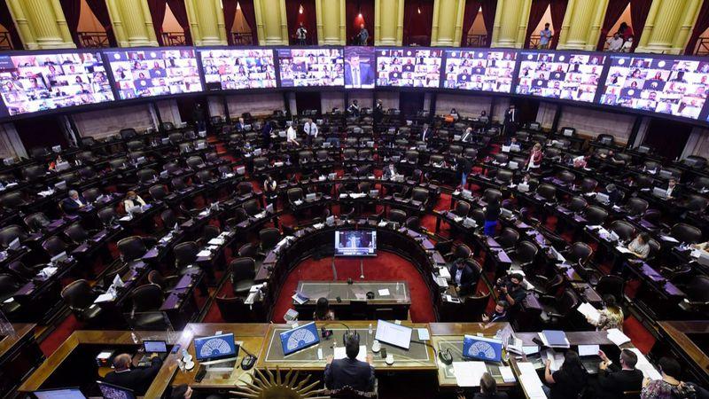 En vivo: sesión especial en la Cámara de Diputados