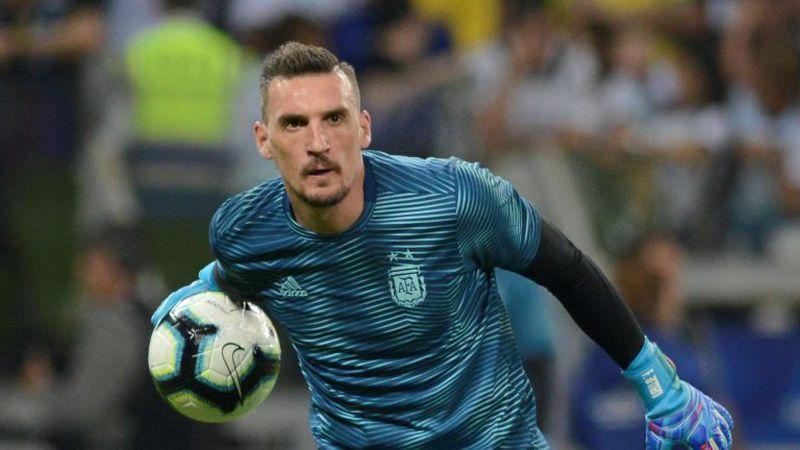 Franco Armani, otra vez positivo de coronavirus: podría perderse la Copa aunque lo esperarán