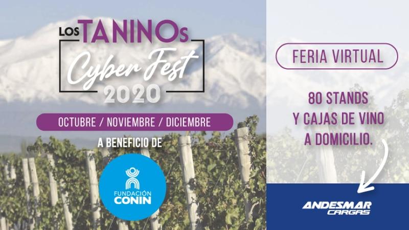 Feria Virtual de vinos a beneficio de Fundación Conin