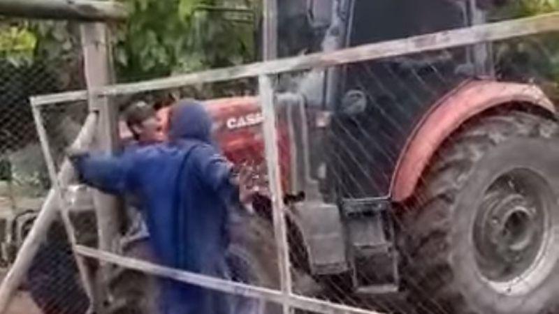 Imputaron al hombre que atropelló con un tractor a un trabajador de su finca