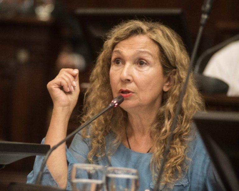 La ex legisladora Patricia Fadel, es la presidenta de la junta electoral del Frente de Todos y fue la encargada de responder el planteo radical.