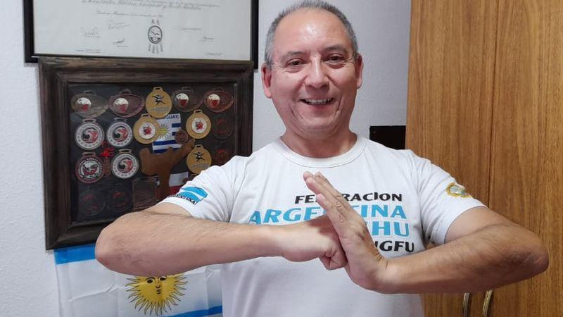 Un mendocino hizo podio en el primer campeonato virtual de Tai Chi Chuan para Latinoamérica