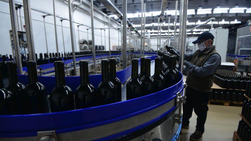 La exportación de vino envasado también creció durante la pandemia