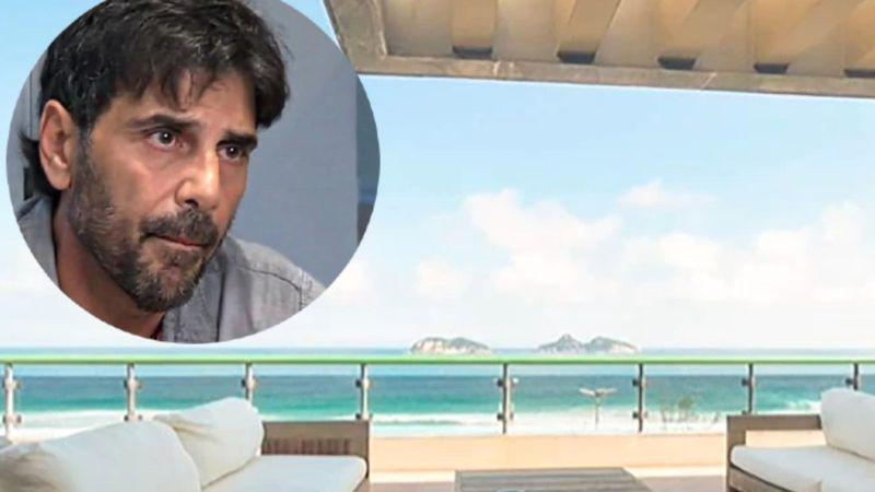 Vista al mar y piscina privada: así es el lujoso departamento de Juan Darthés en Brasil