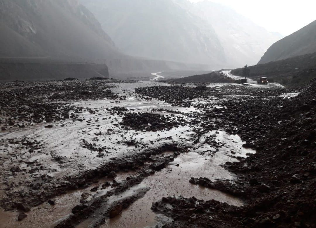 El tránsito está interrumpido en Uspallata y Puente del Inca - Gendarmería