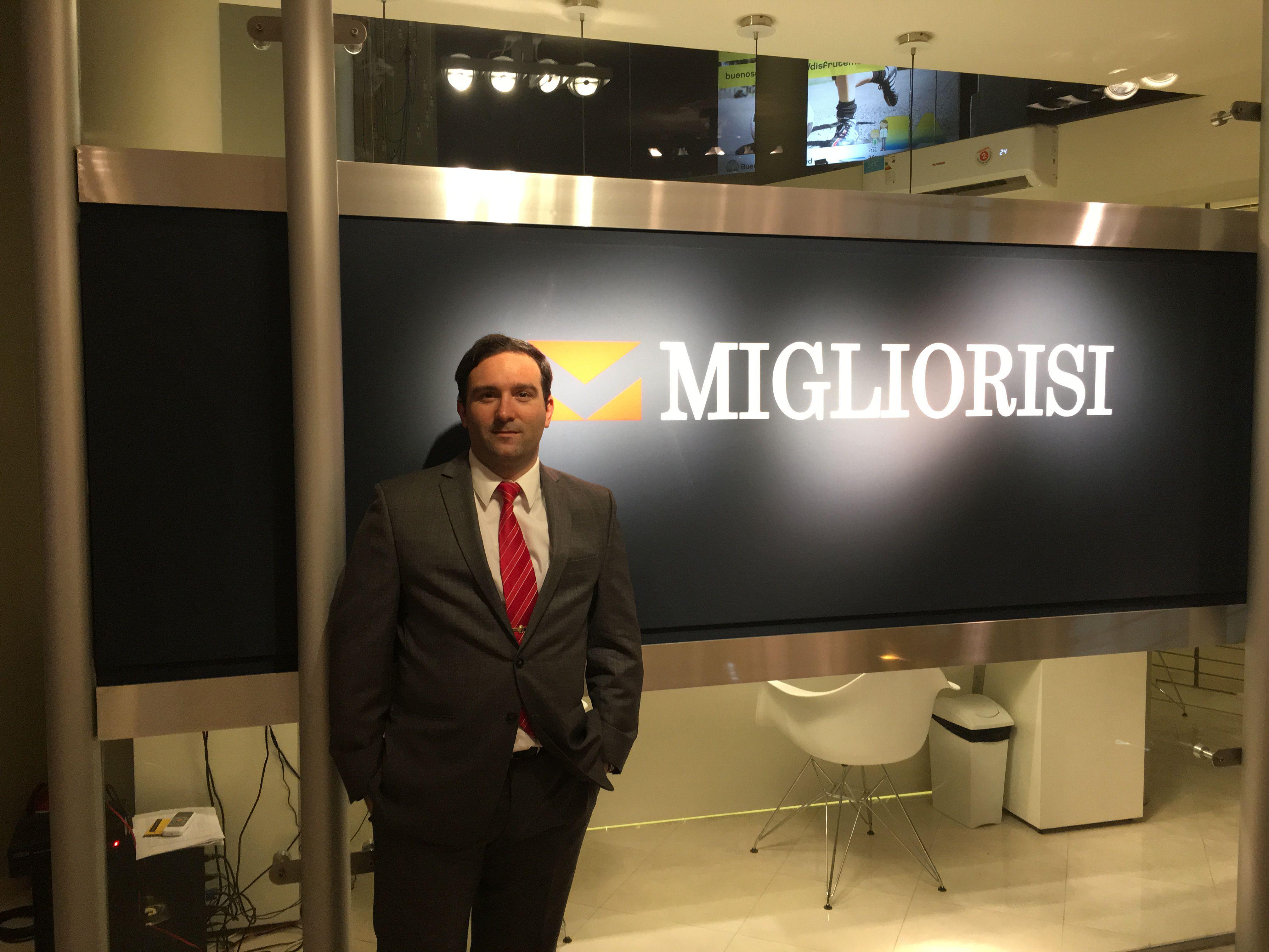 Diego Migliorisi, Socio Gerente de inmobiliaria Migliorisi.
