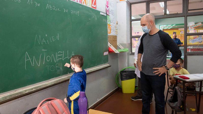 La Corte Suprema respaldó el pedido de Rodríguez Larreta para mantener las aulas abiertas