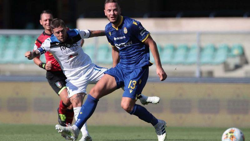 Serie A: Atalanta con Palomino y Papu Gómez, igualó con el Hellas Verona y alcanzó al Inter en el segundo escalón