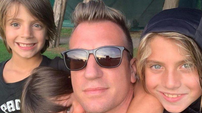 Maxi López dijo que hace diez meses que no puede ver a sus hijos y Wanda Nara le respondió con su batería legal