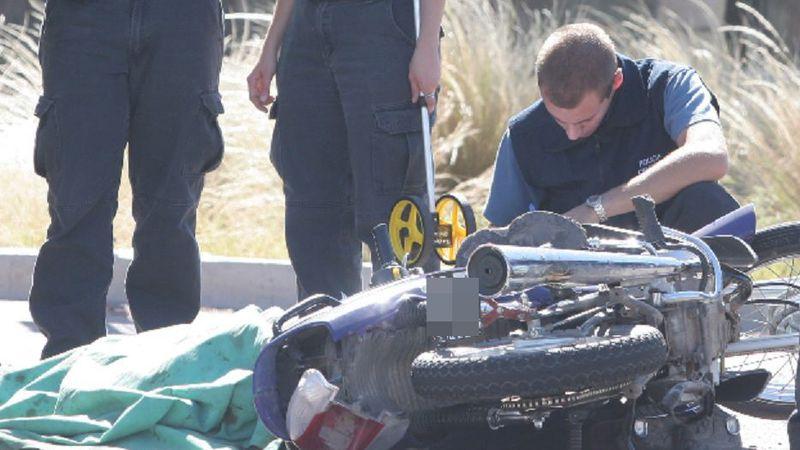 Un adolescente de 18 años cayó de su moto en Lavalle y murió horas después en el hospital