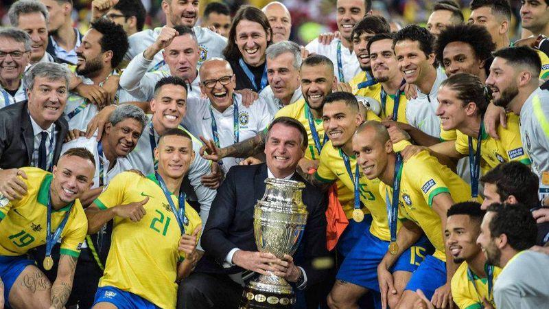 """Plantel de Brasil: """"Estamos en contra de la Copa América, pero nunca le diremos que no a la selección"""""""