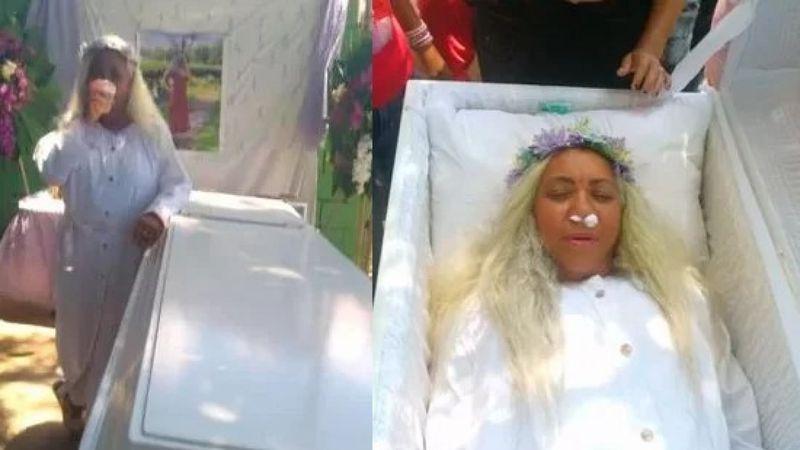 """Organizó su propio funeral para acompañar a su familia en el dolor: """"Quería celebrar mi muerte y mi vida"""""""