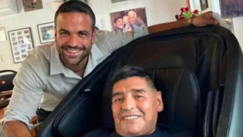 """Declaró Charly, el psicólogo de El Diez : """"La muerte Maradona me desprestigia"""""""
