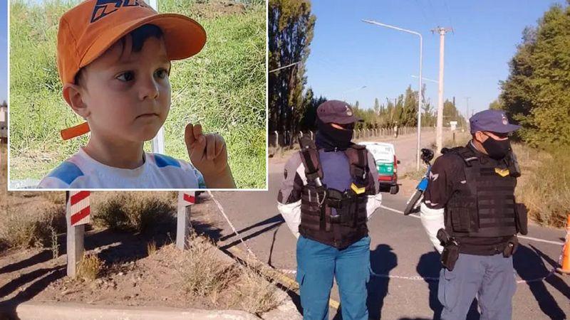 Hallaron muerto al nene de 3 años que había desaparecido en Neuquén