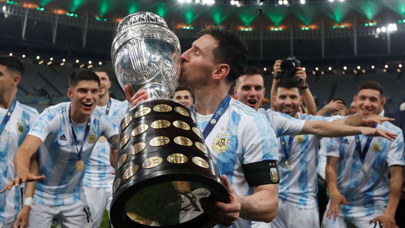 ¡Se le dio a Messi! Argentina derrotó a Brasil y salió campeón de la Copa América en el mítico Maracaná