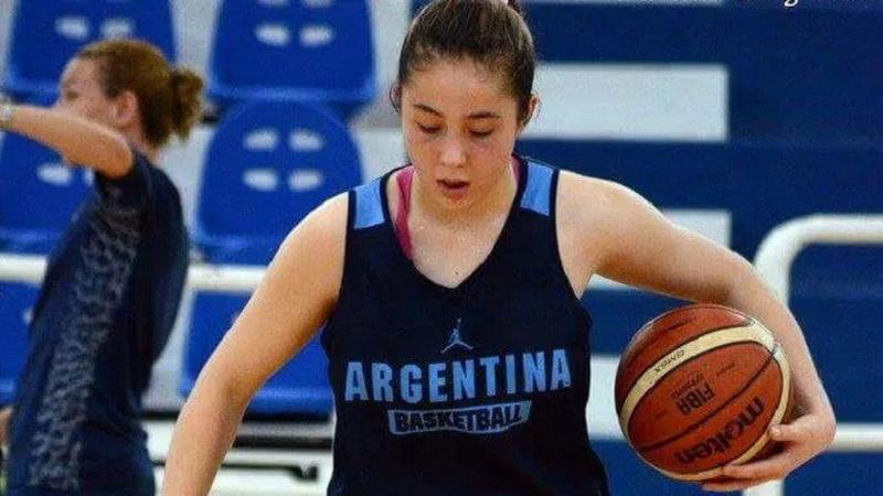 Basquetbol: La mendocina Federica Del Bosco convocada a la preselección Argentina U18