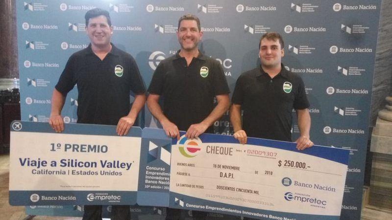 Emprendedores mendocinos ganaron un premio nacional por innovación