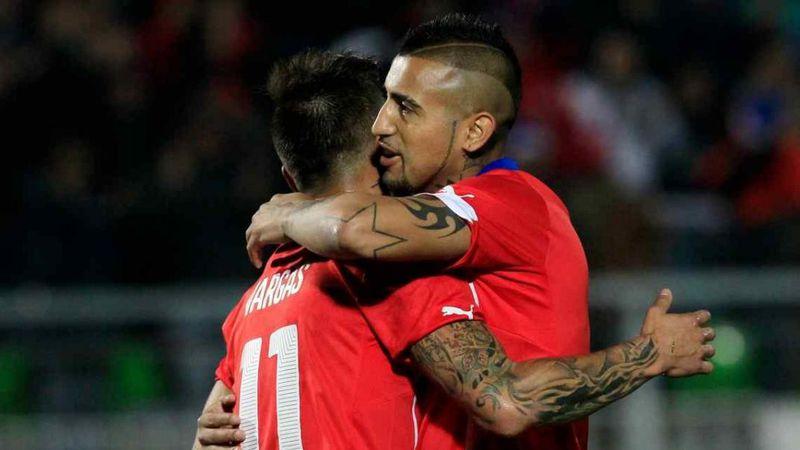 Arturo Vidal encabeza la lista de Chile para el entrenador Martín Lasarte