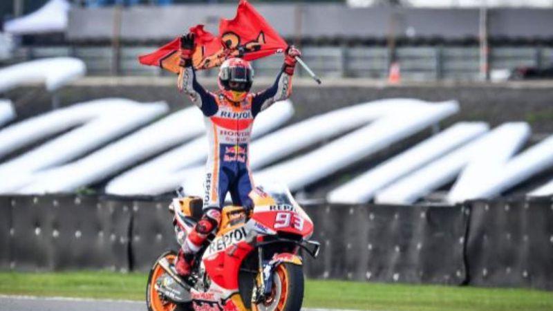 Márquez, cerca de alcanzar a Rossi