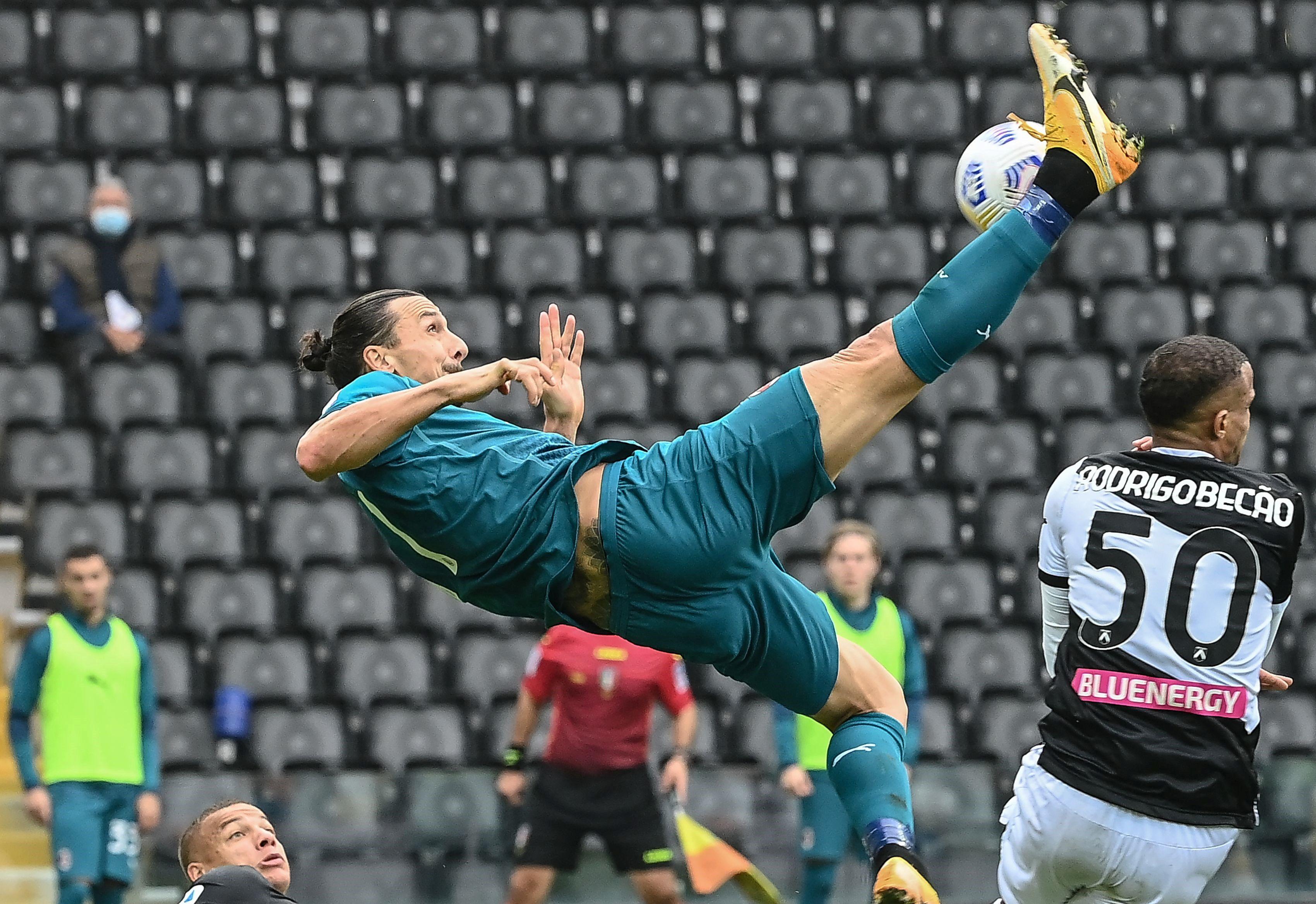 Ibrahimovic sigue vigente./AP