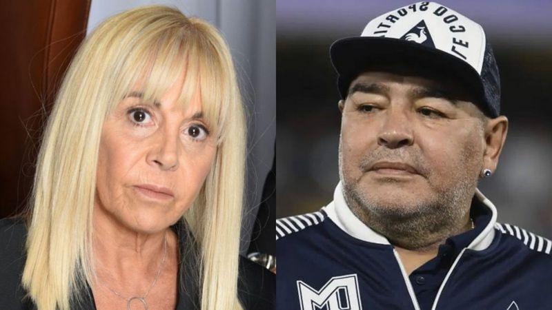 Claudia Villafane Y Sus Hijas Llegaron Corriendo A La Casa De Country Donde Murio Diego Maradona Da La Nota