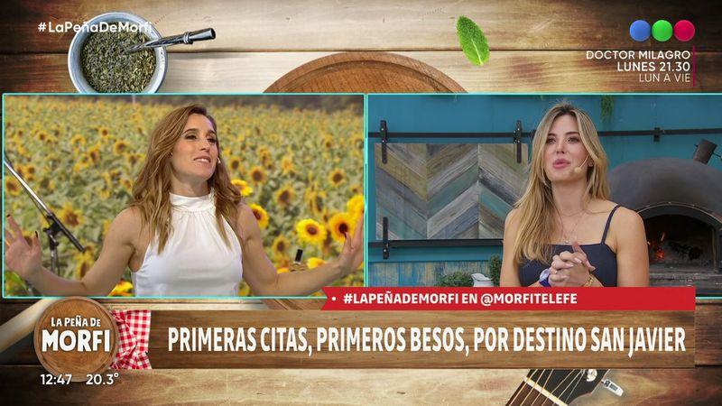 """¿Opacó a Jésica Cirio? Soledad Pastorutti se ganó elogios en """"La peña de Morfi"""" como conductora invitada"""
