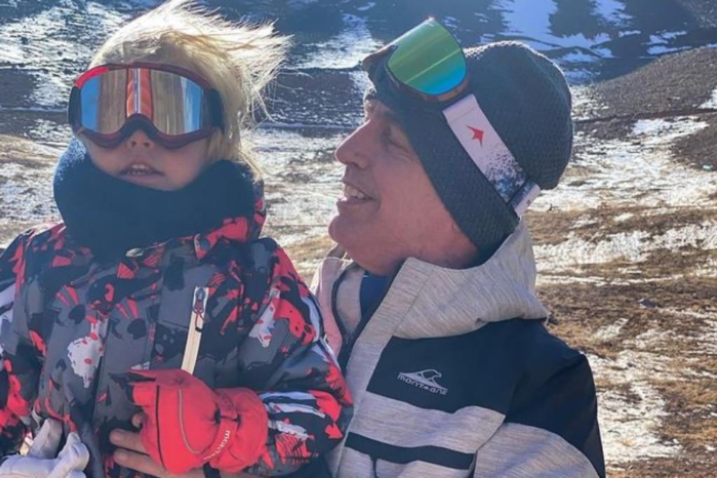 Marley y Mirko se ilusionaron con la nieve de Mendoza, pero las fotos mostraron mucha frustración