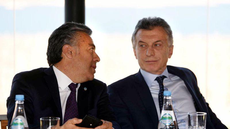 Cornejo no irá a la reunión del lunes con Macri