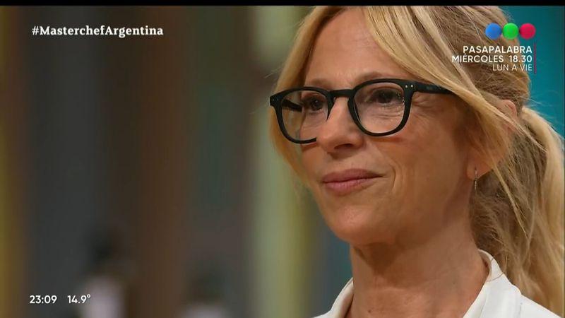 En Intrusos sugirieron que Masterchef editó a Claudia Fontán para mostrar algo que no era y ella no lo negó