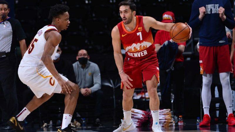Video: con el regreso de Facundo Campazzo, Denver Nuggets aplastó a Cleveland Cavaliers en la NBA
