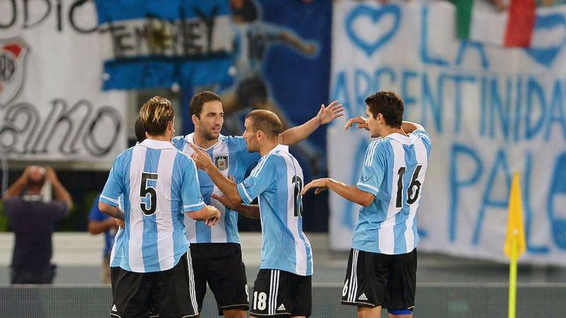 Sin Messi, la Selección fue más que Italia y festejó