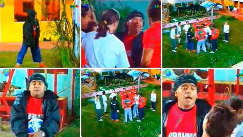 """¿Qué llevó Diego Maradona en una """"bolsita blanca"""" a la casa de Gran Hermano 2001?"""