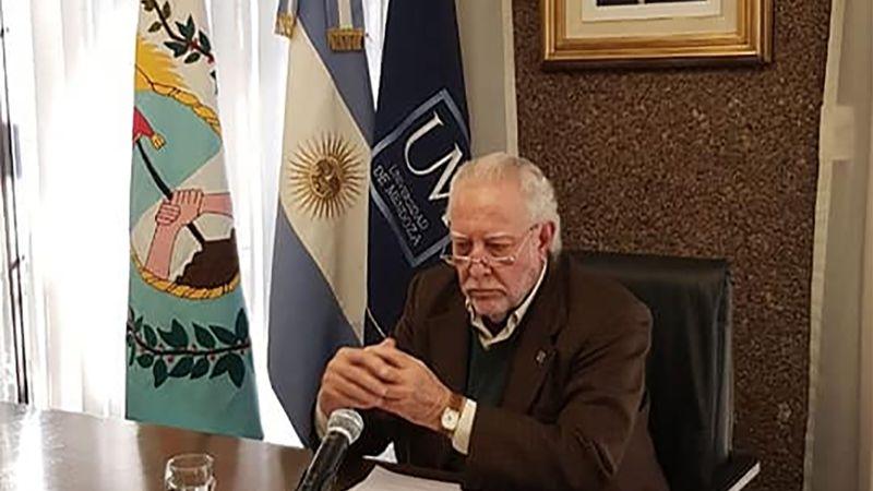 """Miguel Mathus Escorihuela: """"Mendoza no tiene que construir Portezuelo con dineros propios"""""""