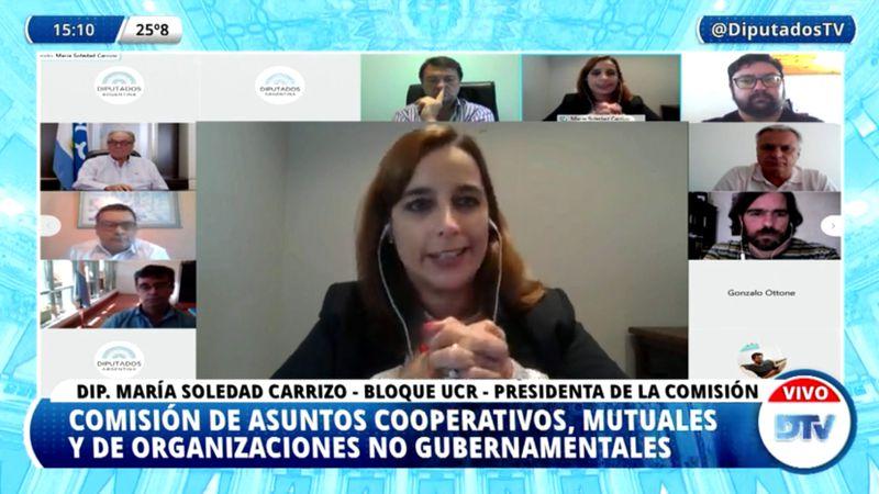 En vivo: el presidente del Inaes expone en diputados