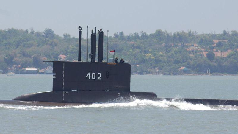 Hallaron seccionado en tres al submarino perdido en Indonesia: murieron los 53 tripulantes