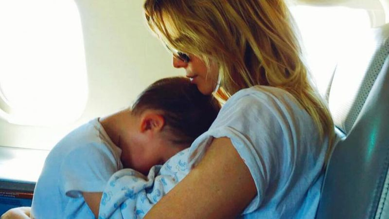 "Guillermina Valdés reveló que su hijo Lorenzo sólo usa el celular ""30 minutos por día"""