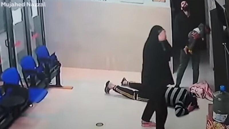 Video: la desesperación de dos padres por su bebé que se asfixiaba y el emotivo agradecimiento al médico que lo salvó