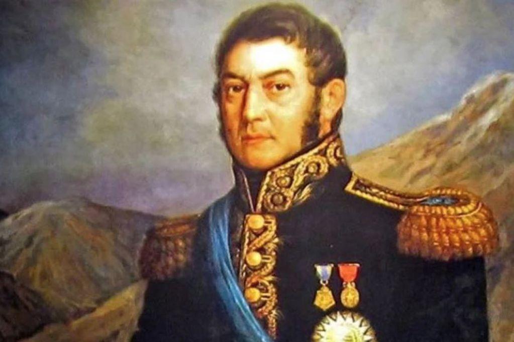 José de San Martín tuvo una clave relación con el vino de Mendoza.