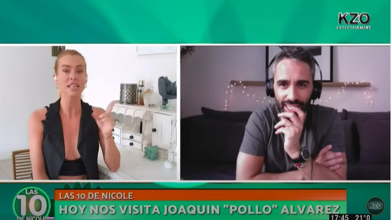 Video: Nicole Neumann contó en vivo cuántas veces a la semana tenía sexo con Fabián Cubero