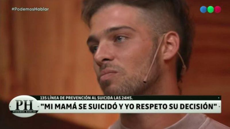 El instagramer Santiago Maratea sorprendió a todos con su relato en PH sobre la repentina muerte de su mamá